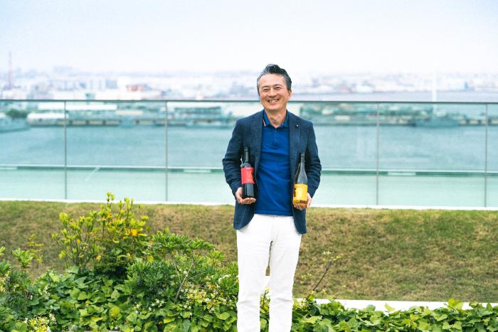 Because, I'm<br>ビコーズワイン開発者