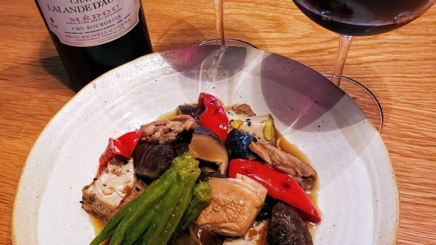 ワインペアリング奮闘記 第104回 シャトー・ラランド・ドーヴィヨン 2009年 × 夏野菜と鶏肉の煮物